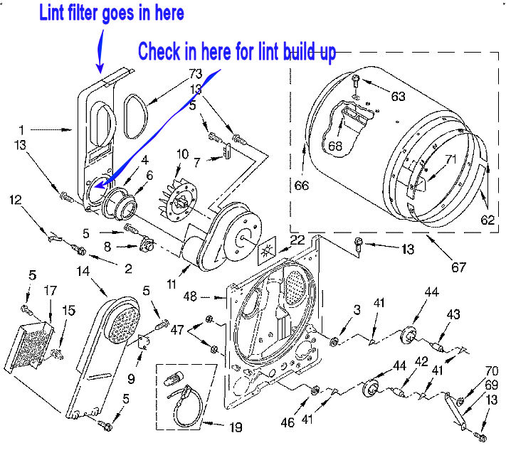 Fabulous Appliancejunk Com Whirlpool Dryer Diagram Wiring Digital Resources Minagakbiperorg